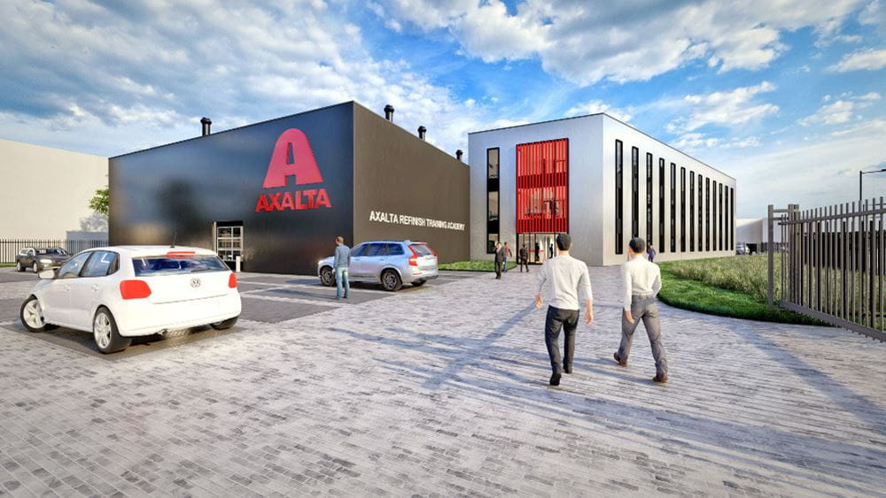 Visualisation of the new Axalta facility.